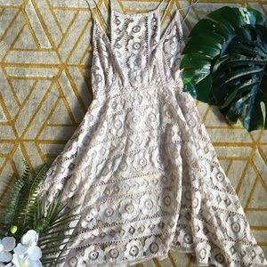 FP Handkerchief lace dress